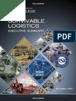 Defense Science Board (DSB) Task Force on Survivable Logistics