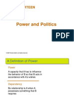 Ch 14 Power and Politics