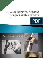 Emoțiile Pozitive, Negative Și Agresivitatea În Trafic