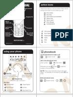 Motofone f3 Latam Quick Start Guide