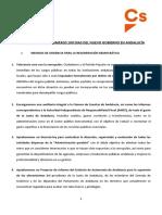Acuerdo programático entre PP y Ciudadanos