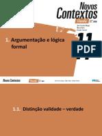 Resumo Argumentacao Logica Formal
