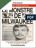 Davis, Don - Le Monstre De Milwaukee - L'Affaire Jeffrey Dahmer (1993, J'ai lu).epub