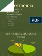 Curs 10 Hipotiroidia
