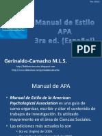 Normas Apa 3ed