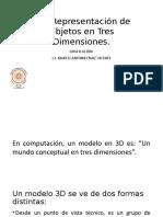 3.1.Representación de Objetos en TresDimensiones
