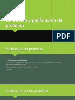 prurificacion de proteinas