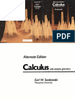 Swokowski+Calculus+with+analytic+geometry