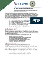 Managing Furlough