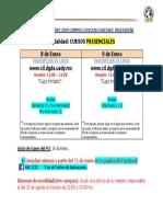 PII-Info Inscripciones en Linea Enero 2019