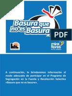 Manual de Reciclaje Programa BQB