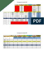 Cronograma de Estudos 2019