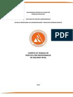 Folder de Practicas Pre Profesionales II (1)