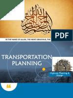 Transportation Planning Chapter 3