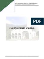 Plan de Gestion de Seguridad y Capacitaciones