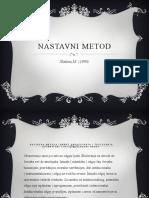 Nastavni metod Prezentacija.pptx