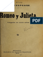 Shakespeare - Romeo y Julieta