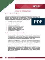 Gestion de Informacion Anexo 2.1