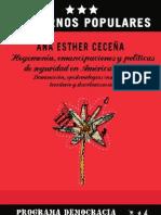 Hegemonia Emancipaciones y Politicas de Seguridad