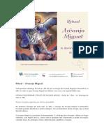 - Ritual - Arcanjo Miguel