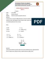 Ejercicios de Pascal