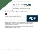 Dicas Americanas Válidas No Brasil No Marketing Jurídico! - Jus.com.Br _ Jus Navigandi