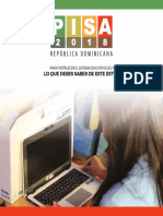 Folleto Informativo PISA 2018