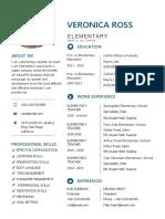 Free Clean Resume