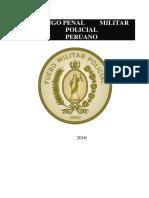 Codigo Militar Policial 01 Código 001-358-1