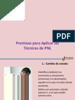 04 Premisas Para Aplicar Las Técnicas de PNL 2013