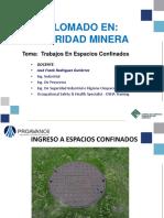 Trabajos en Espacios Confinados - José Rodríguez
