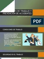 Condiciones de Trabajo y Prevención de Accidentes
