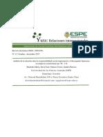 12.6 Análisis de La Relación Entre La Responsabilidad Social Empresarial y El Desempeño Financiero