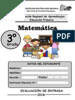 3-ERAI-Matematica Tercer Grado Primaria