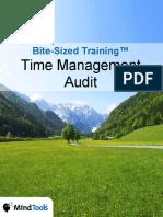 BiteSizedTraining-TimeManagementAudit