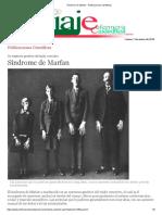 Síndrome de Marfan - Publicaciones Científicas