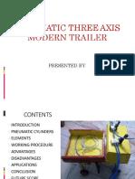 PPT - 3 Axis Modern Trailer