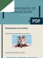 Discapacidades de Comunicación