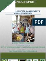 Training on Livestock Management