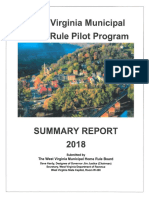 2018 WVMHRB Summary Report