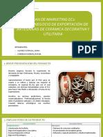 Artesanía, exportación de Perú a EE. UU