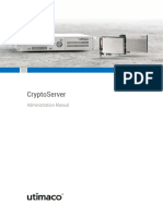 CryptoServer Manual Systemadministrators
