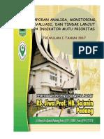 Contoh Laporan Evaluasi Dan Analisa Pmkp