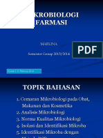 Kuliah 3, Analisis Mikrobiologi.ppt