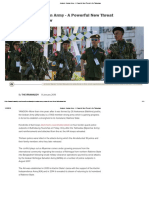 Analysis_ Arakan Army - A Powerful New Threat to the Tatmadaw