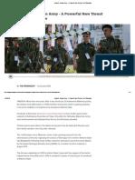 Analysis_ Arakan Army - A Powerful New Threat to the Tatmadaw