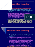 Extrusion blow molding