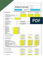 Format Laporan Bulanan Dan Mingguan HSE