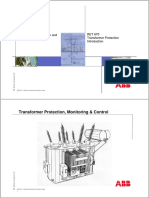 Paralleling and Ferroresonance as Special Problems With Transformers