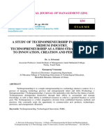 technoprenuership
